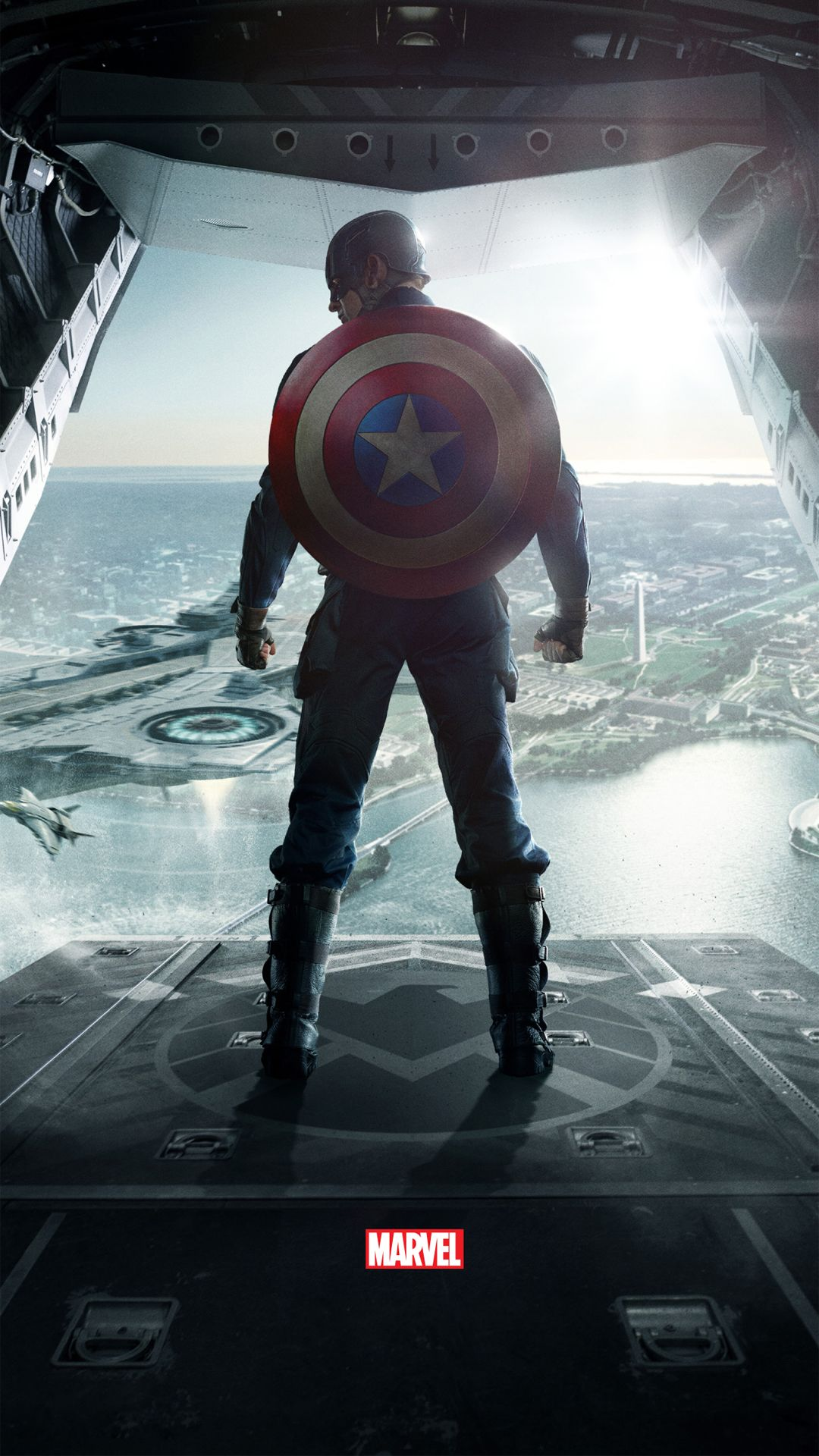 Captain America The Winter Soldier htc one wallpaper Marvel 1080x1920