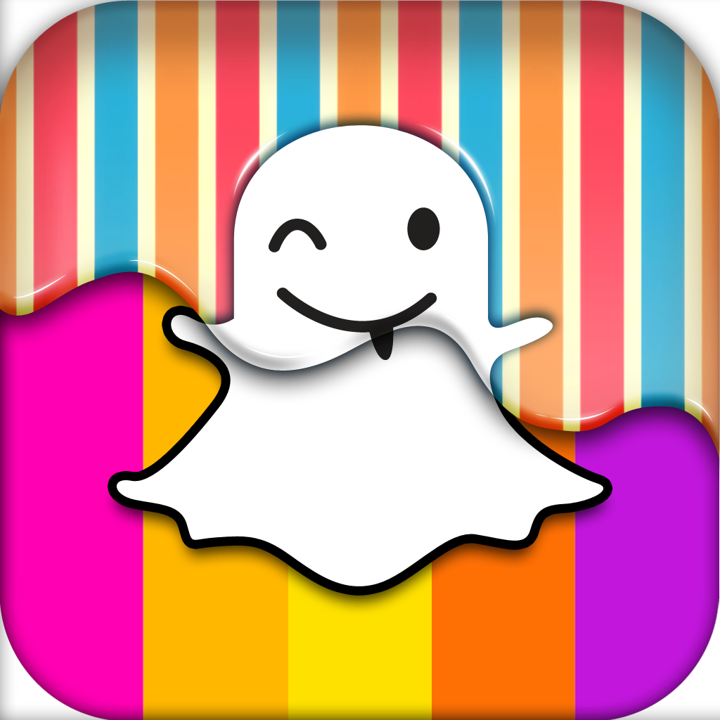 Skin for Snapchat Background for Hangout Custom Icon by Anna Chloe 1024x1024