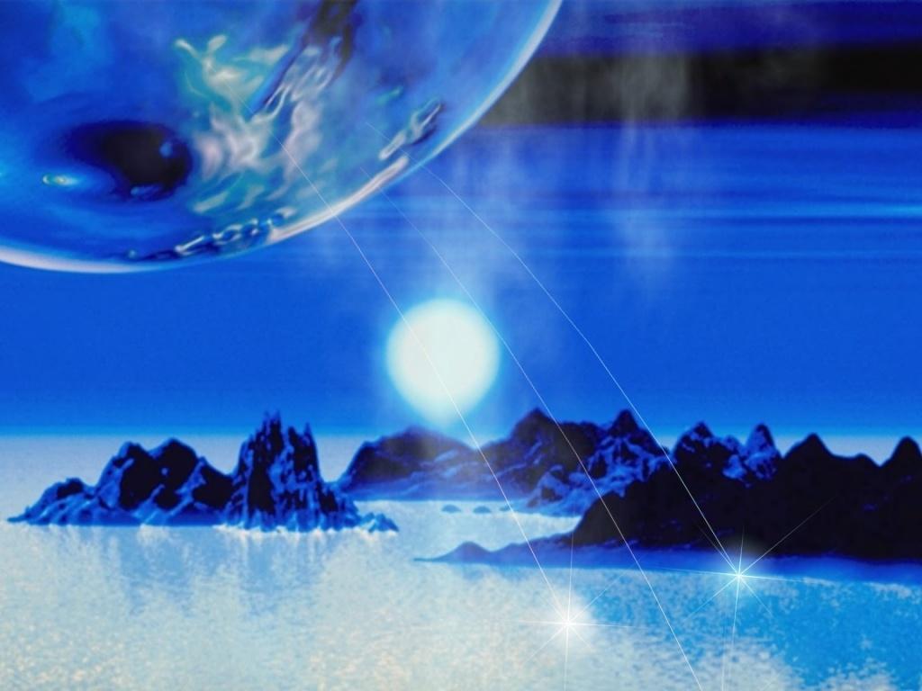 Planeta Azul 1024x768