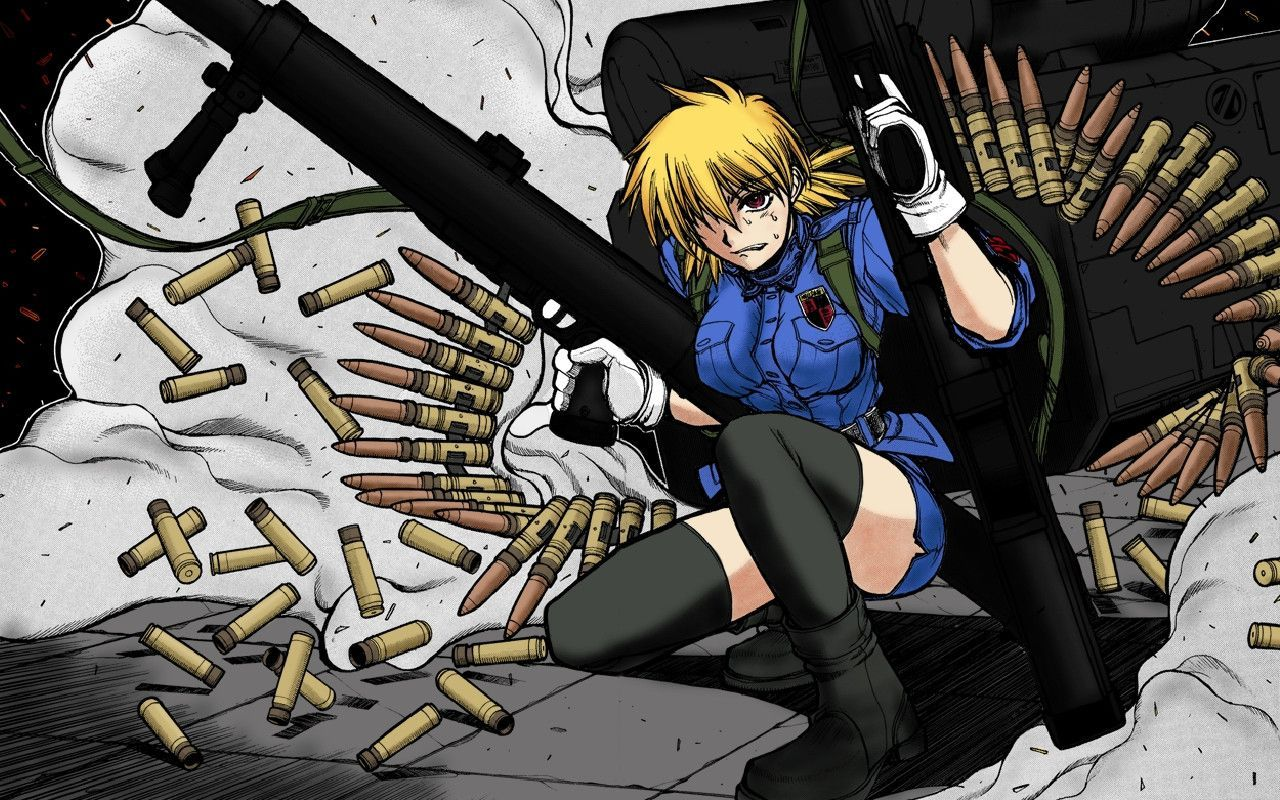 Seras Victoria Wallpaper 1280x800