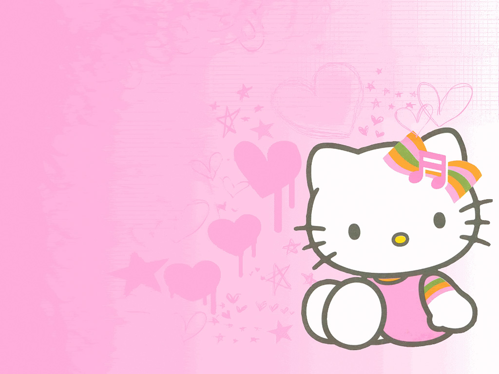 Hello Kitty Wallpaper Valentine 1024x768