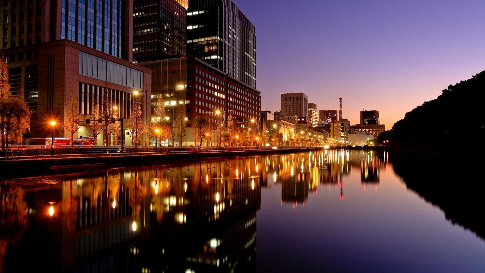 Tokyo City Night Lights Wallpapers   852x480   150708 1600x900