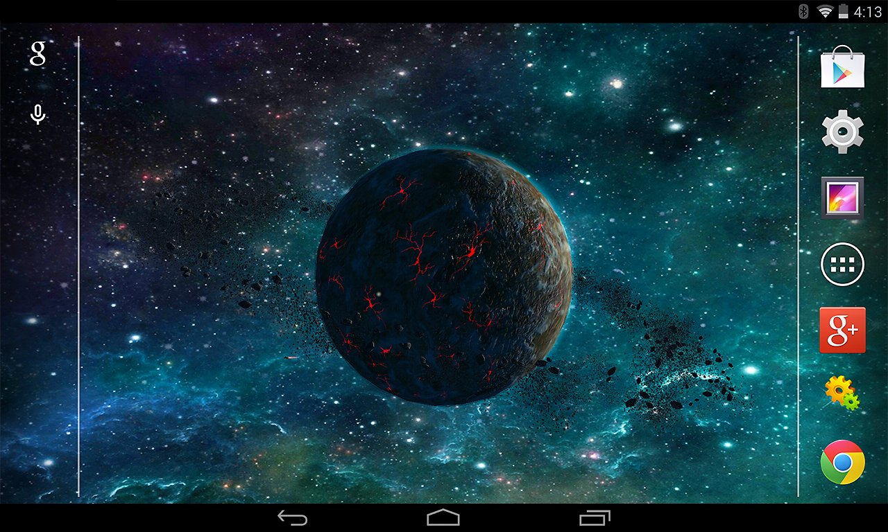 3D Planet Live Wallpaper   Android Apps and Tests   AndroidPIT 1280x768