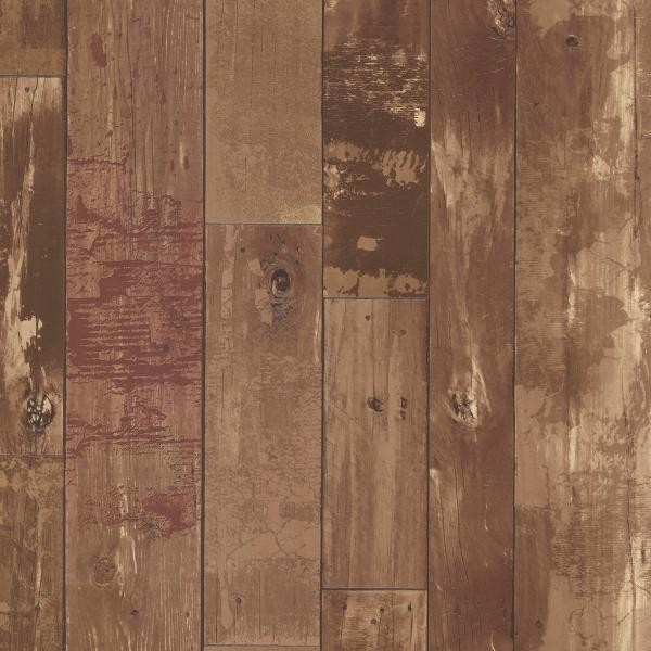 Heim Brown Distressed Wood Panel 347 20129 Wallpaper Warehouse 600x600