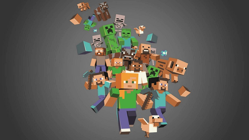 45 Moving Minecraft Wallpapers On Wallpapersafari