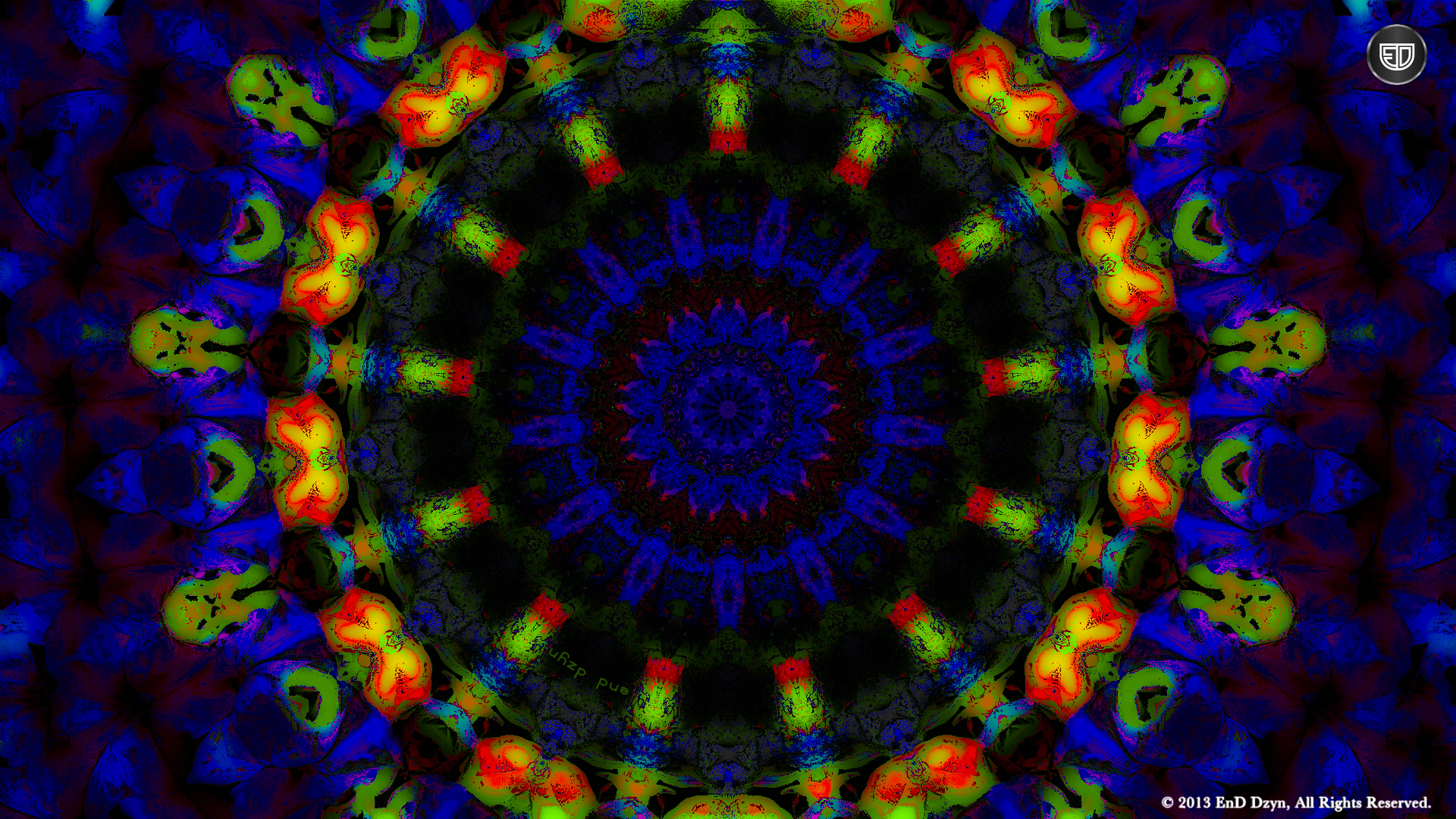 Sokilin design wallpapers trippy wallpapers hd - Psychedelic Hd Background Wallpaper Blue Orange Trippy 3d