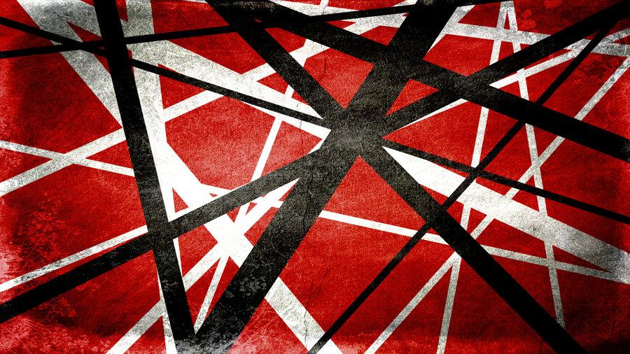 Van Halen Stripes Iphone Wallpaper Iron frankenstrat stripes 900x506