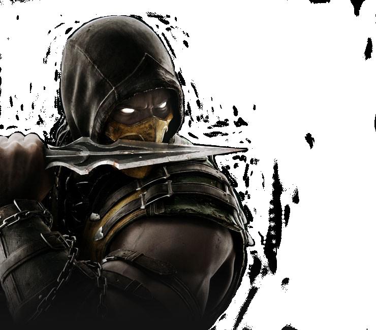 Mortal Kombat X   Scorpion render by barrymk100 740x650
