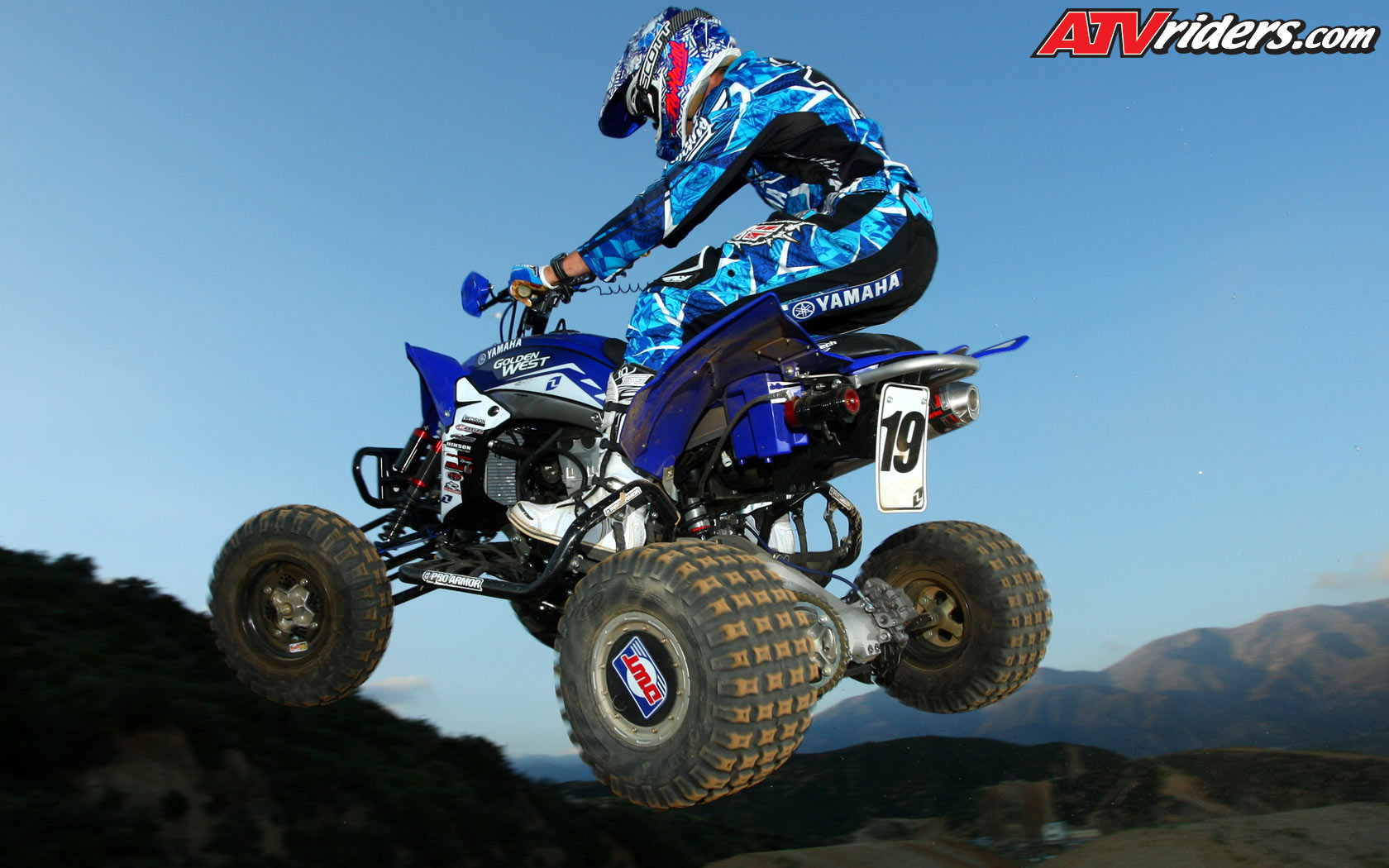 Yamaha YFZ450R ATV   Wednesday Wallpapers   Weekly ATV 1680x1050