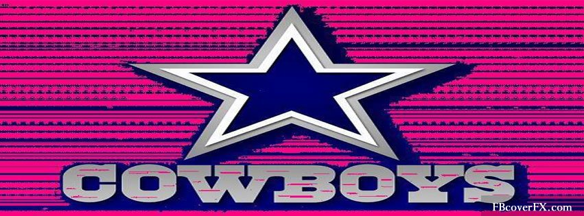 Pink Dallas Cowboys Logo Wallpaper