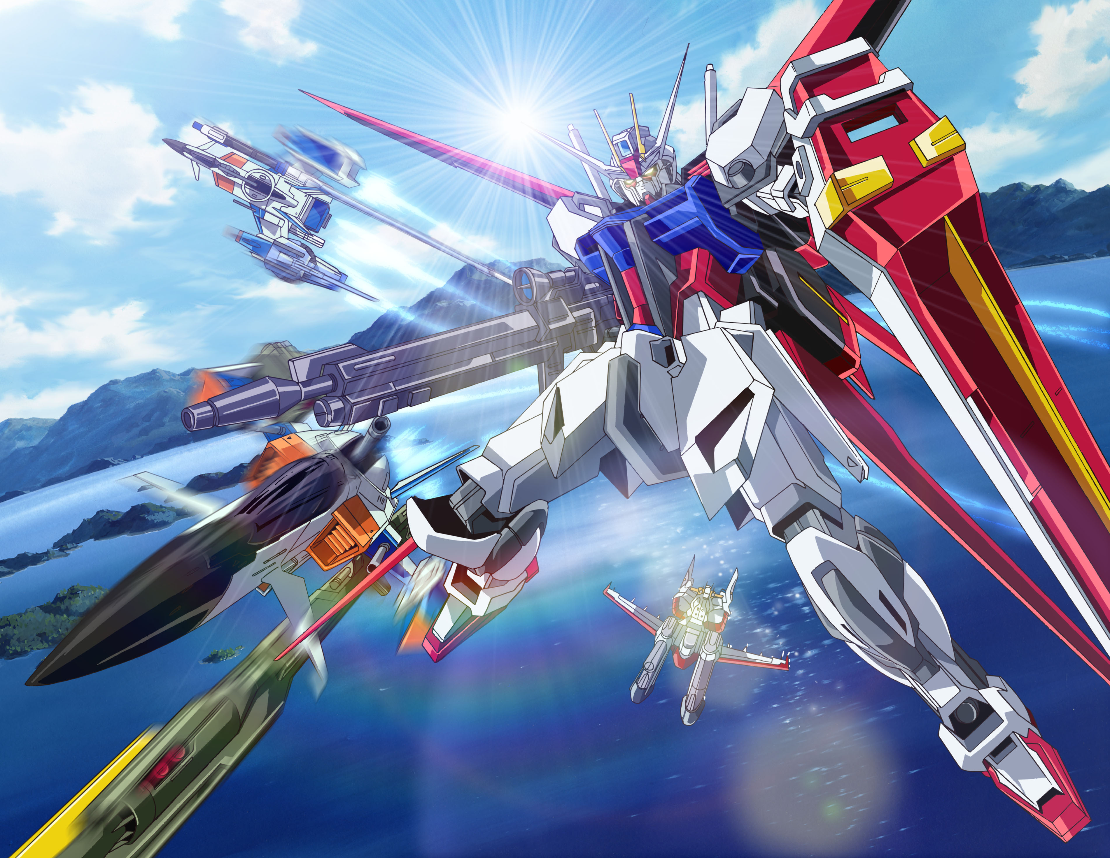 Download Gundam Seed Destiny Pictures High Definition Wallpaper 3806x2944
