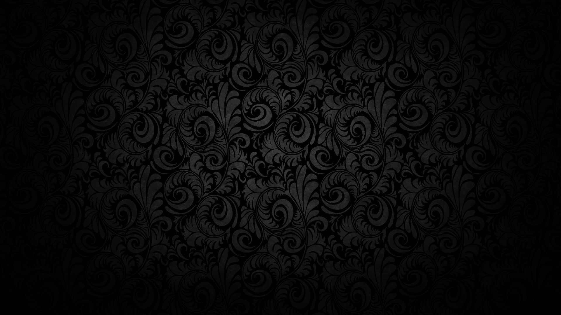1080p Wallpapers of Abstract Black Swirl Wallpaper Background 1920x1080