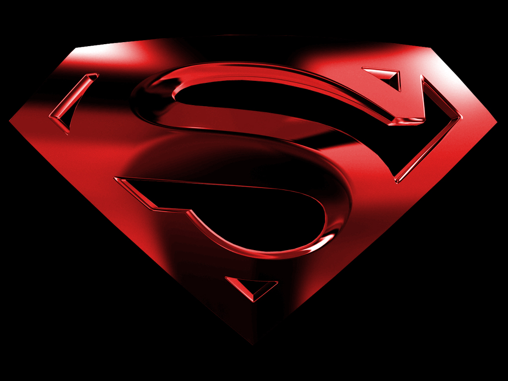 cool superman logo wallpaper wallpapers55com   Best Wallpapers for 1024x768