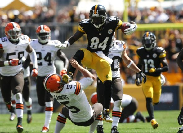 antonio brown matt brown spencer lanning nfl cleveland browns 590x431