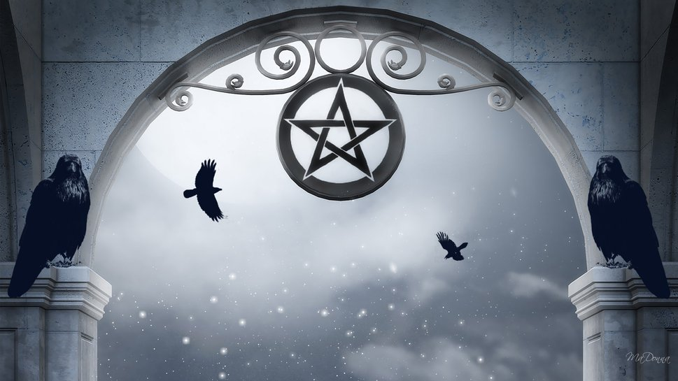 Pentagram and Ravens wallpaper   ForWallpapercom 969x545