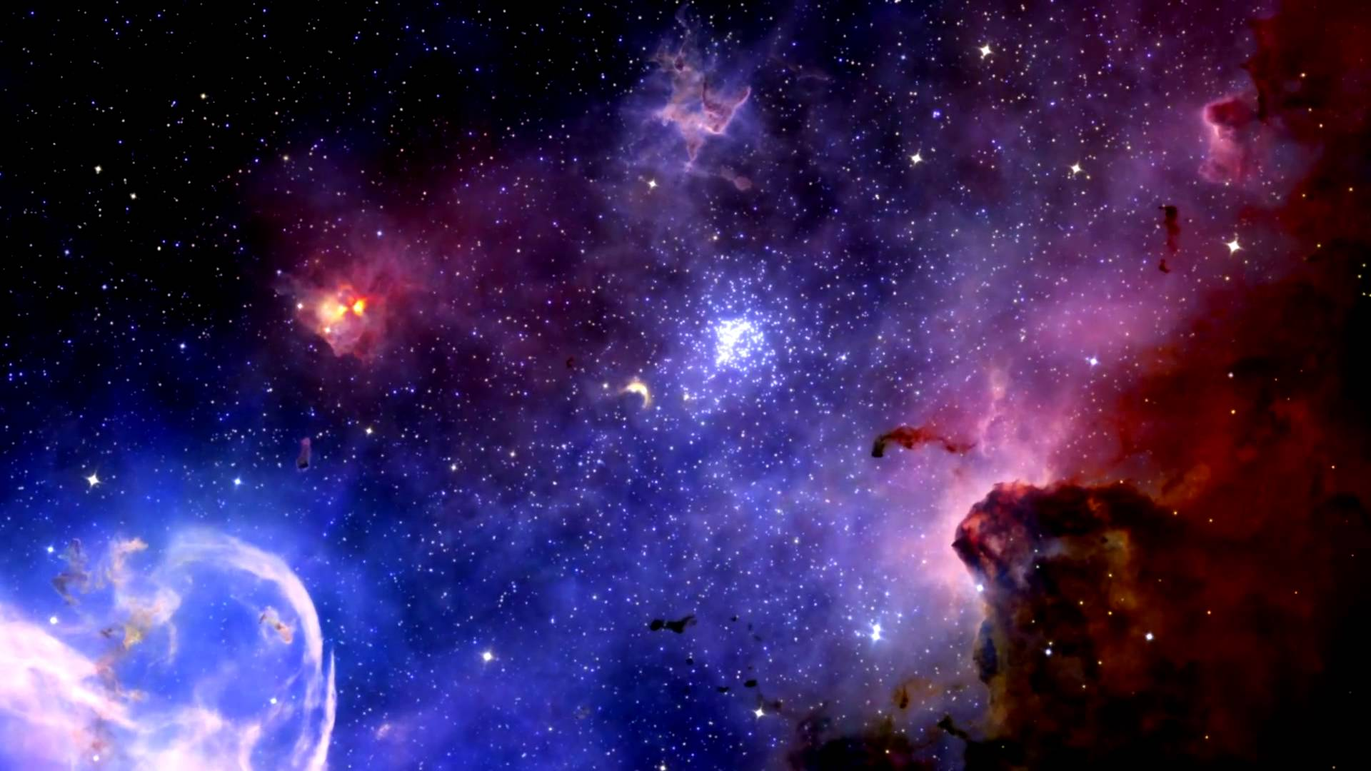 3D Universe Wallpaper - WallpaperSafari