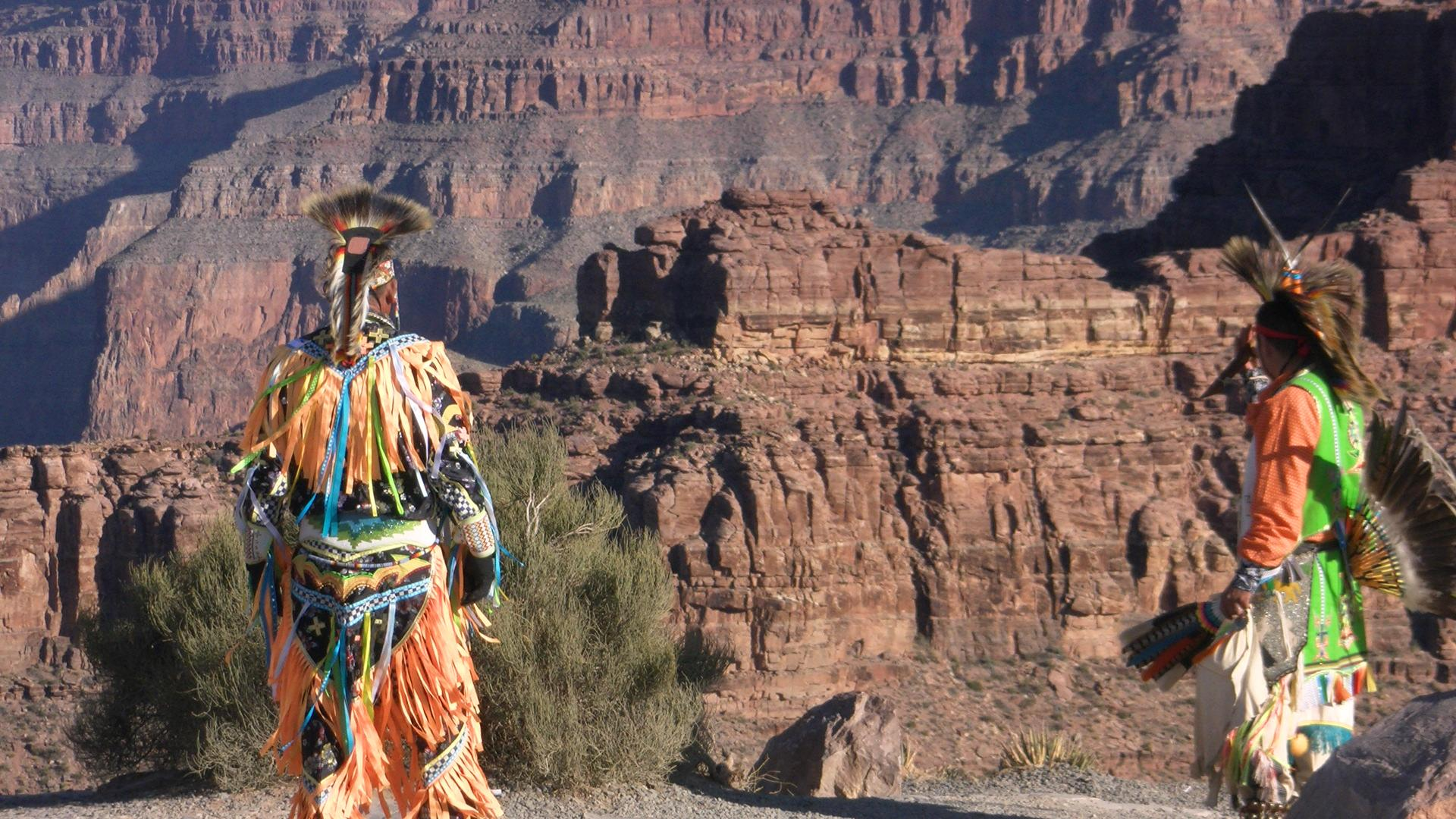 Native American Indians At Grand Canyon Hd Wallpaper Wallpaper List 1920x1080