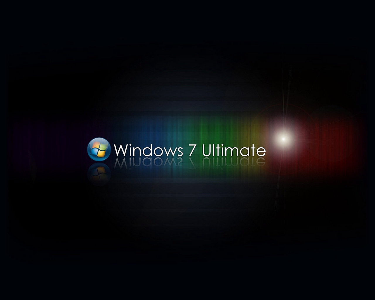 Download wallpaper 1280x1024 windows 7 ultimate ultimate red 1280x1024