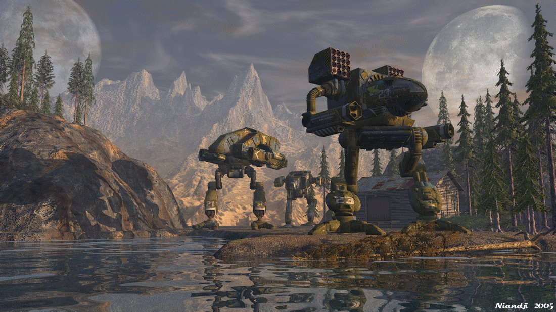 Mecha MechWarrior Wallpaper 1100x618 Mecha MechWarrior Mad Dog 1100x618