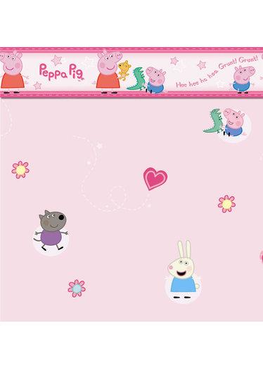 Peppa Pig Wallpaper Border 374x524