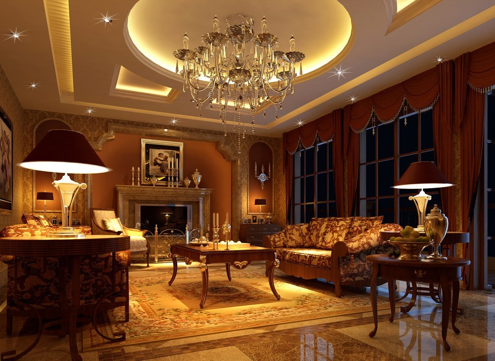 Luxurious wallpaper for homes wallpapersafari for Luxury 3d wallpaper