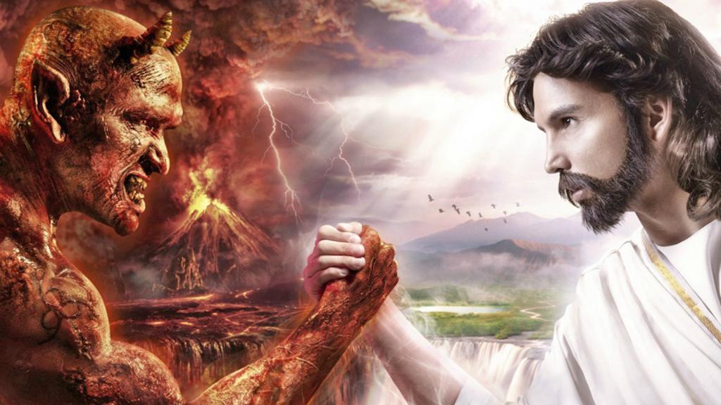 God vs Devil - Choice Wallpaper