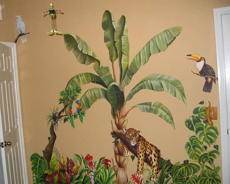 Graffiti Murals Wallpaper 789x632
