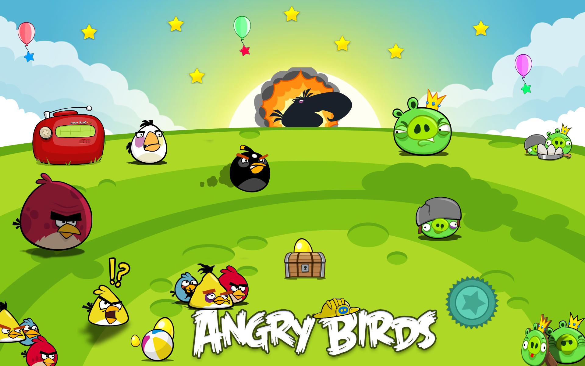 Angry Birds Wallpaper by VistaFreddy 1920x1200