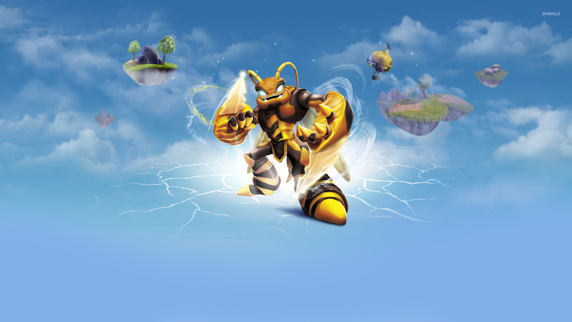Swarm   Skylanders Giants wallpaper   Game wallpapers   22056 1920x1080