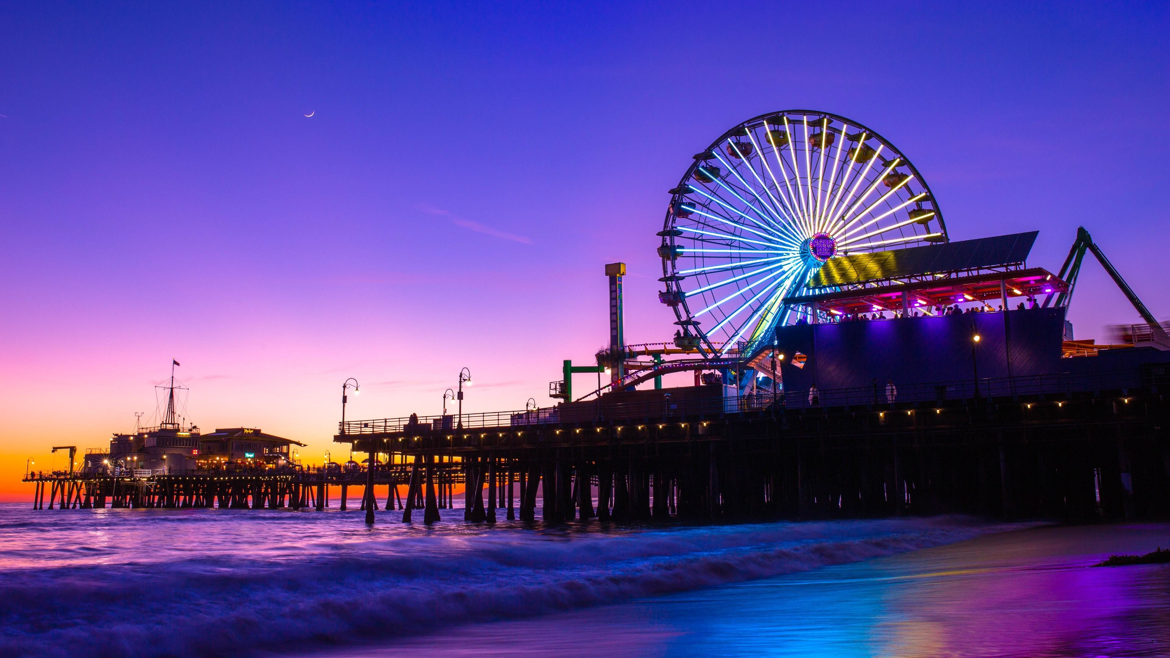 53 Santa Monica Wallpapers on WallpaperPlay 3840x2160