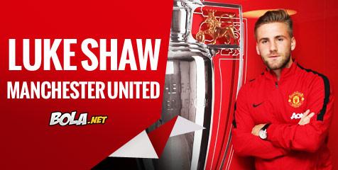 United Resmi Dapatkan Luke Shaw   Bolanet 476x240