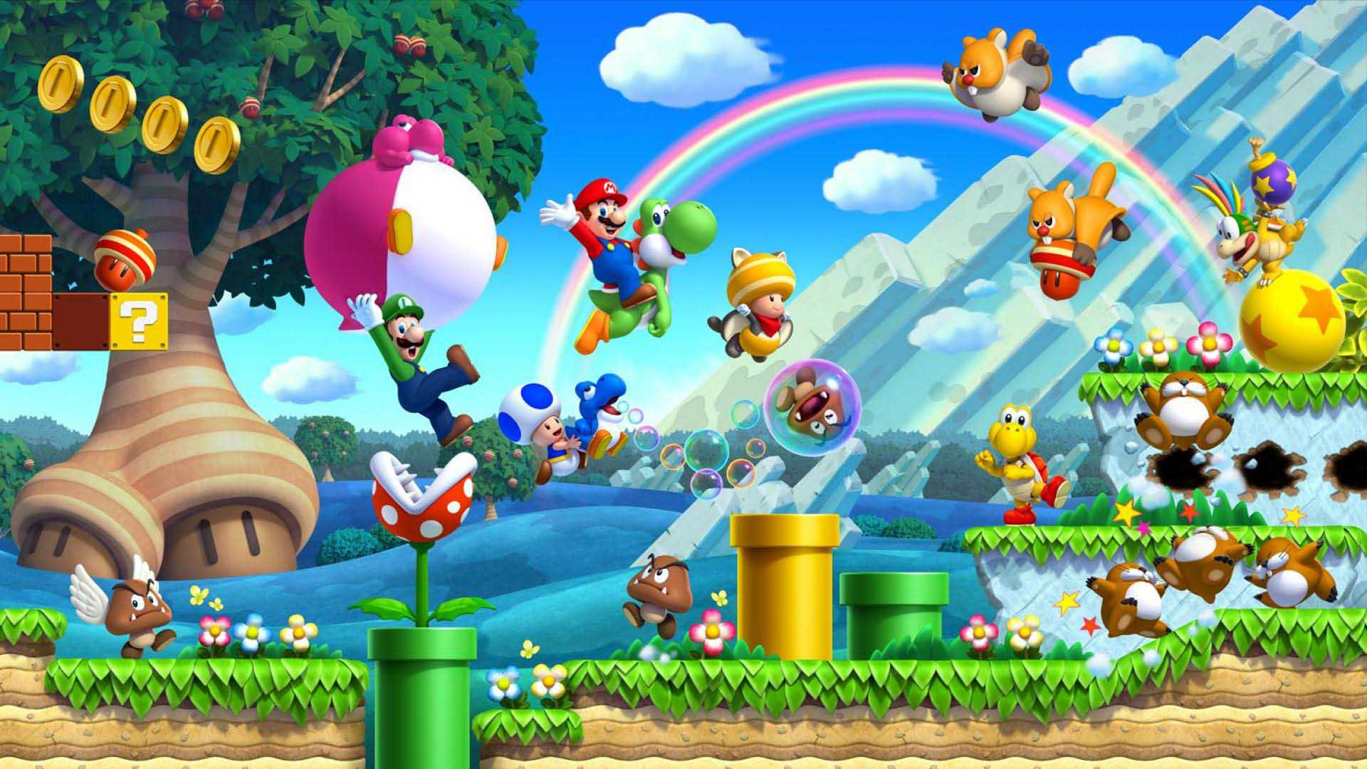 Free Download Most Popular And Colorful Game Mario Kart 8