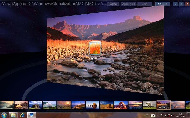 Windows 7 Logon Background Changer   The Official Blog of Richard 800x500
