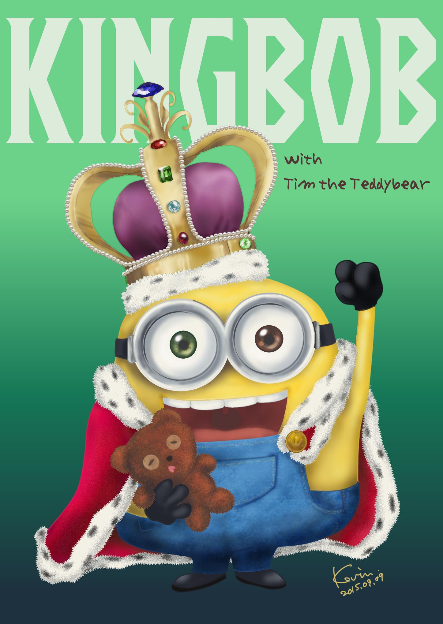 British KingBob The Minion By DiabolicKevin 1447x2039