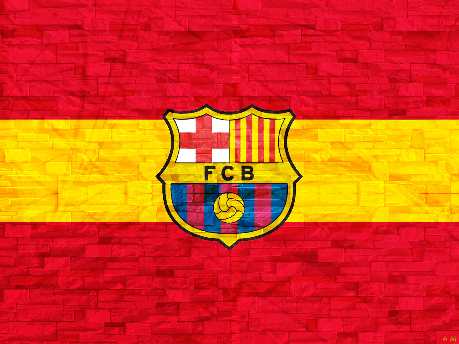 HD FC barcelona Wallpaper HD Wallpaper 1600x1200