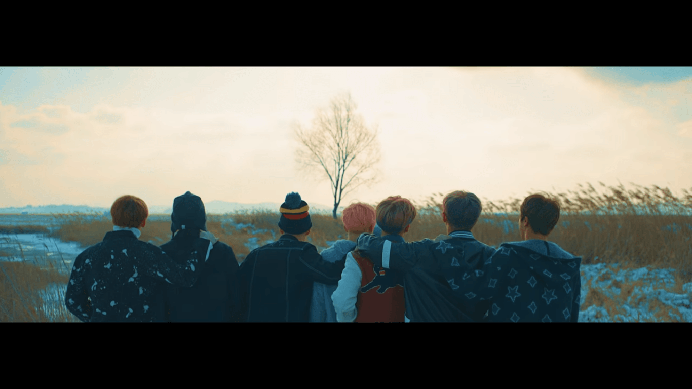 Download Bts Spring Day Wallpaper Hd HD Backgrounds Download 1366x768