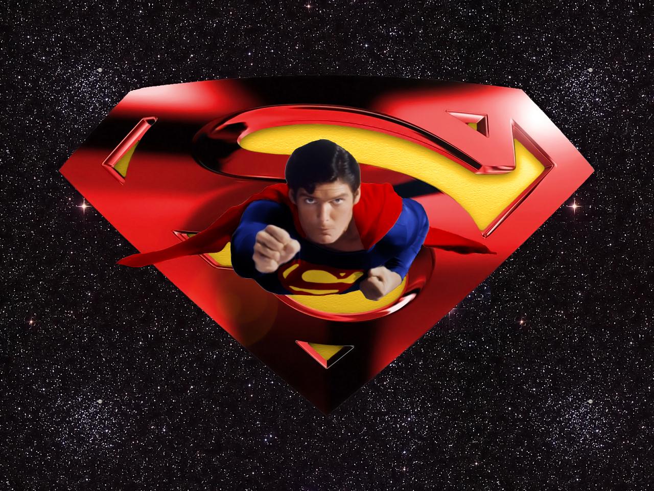 christopher reeve superman wp by swfan1977 fan art wallpaper movies tv 1280x960
