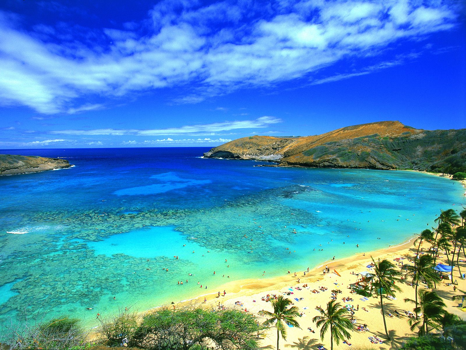 Hanauma Bay Oahu Hawaii   Canada Photography Desktop Wallpapers 1600x1200