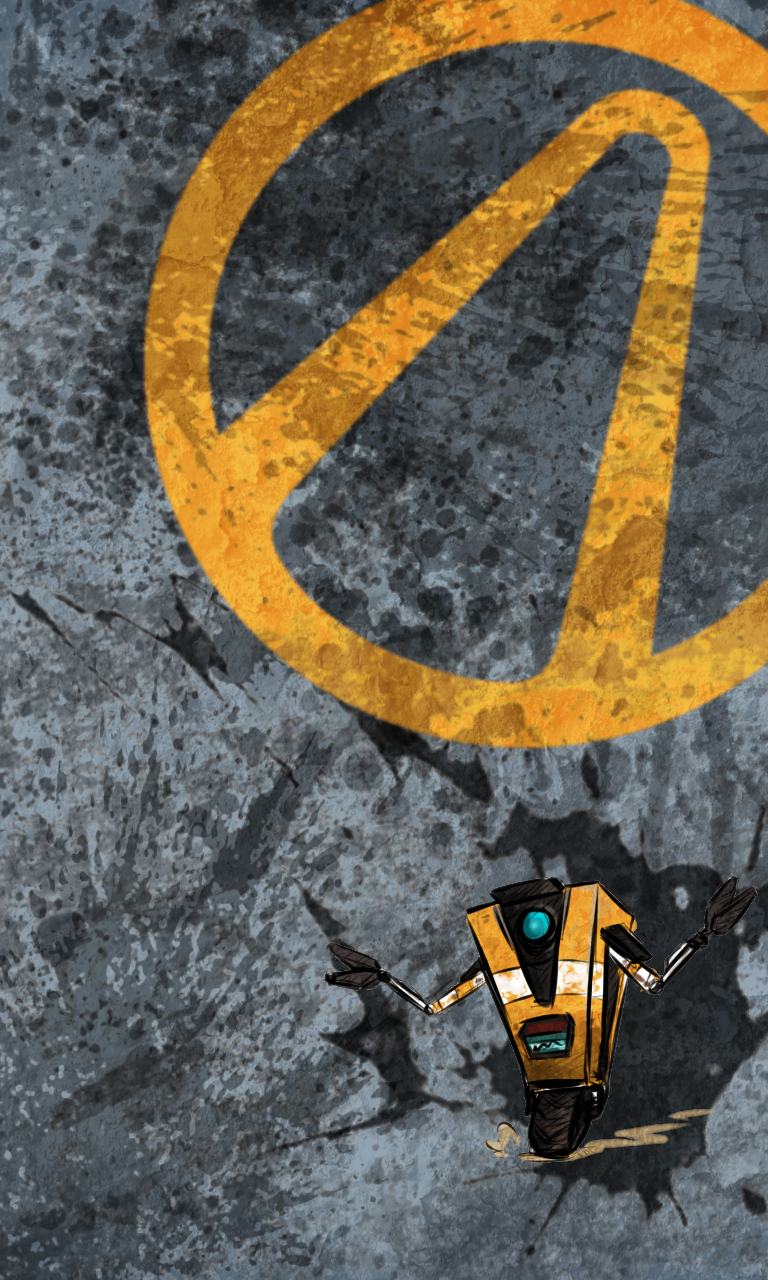 Blackberry ClapTrap Blackberry 10 Games wallpaper wallpaper for 768x1280