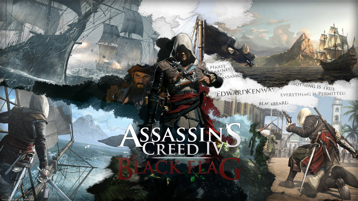 Ac4 Black Flag Wallpaper 30 Background Pictures 1191x670