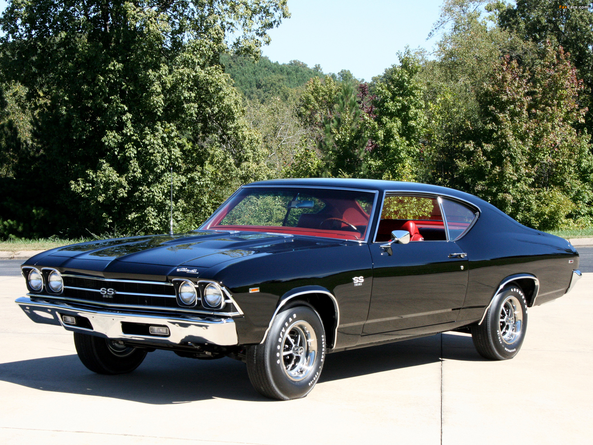 Wallpapers of Chevrolet Chevelle SS 396 Hardtop Coupe 1969 2048 x 2048x1536