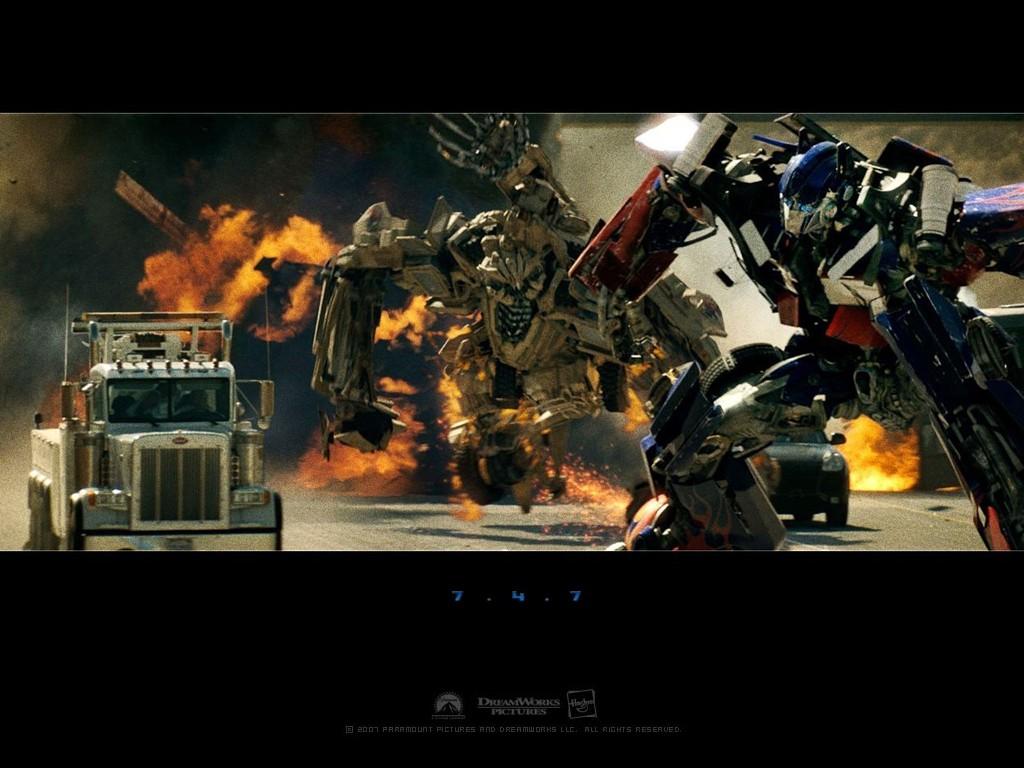 Transformers Movie desktop wallpaper 1024 x 768 pixels 1024x768