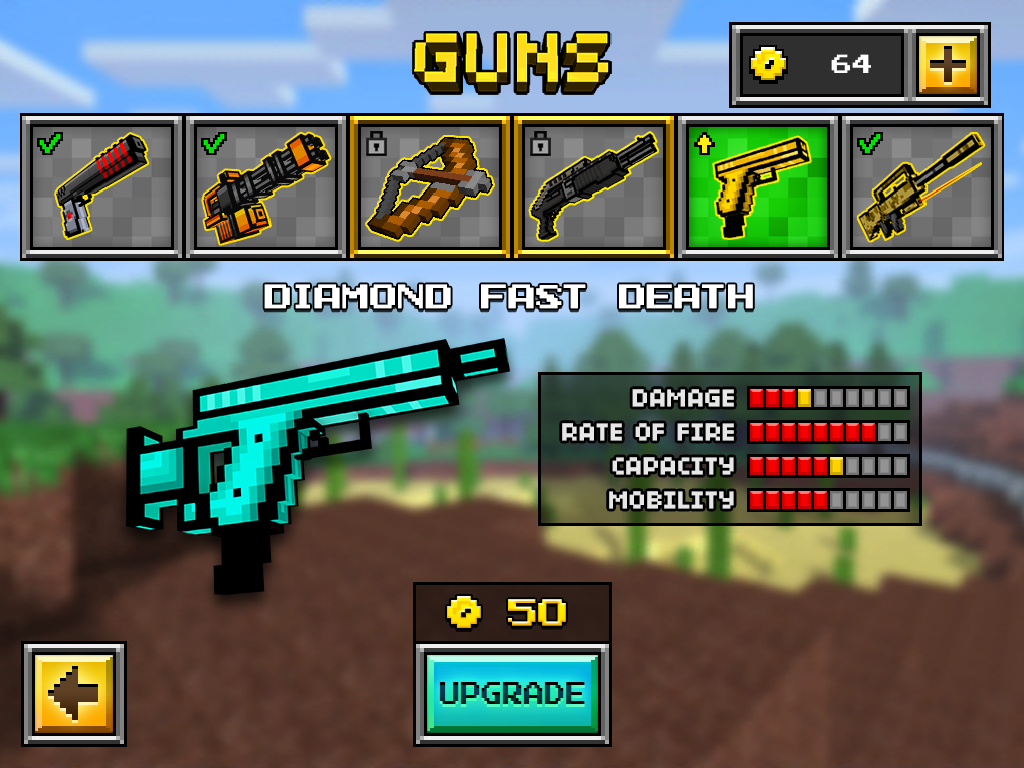 Fast Death Up2   Pixel Gun 3D Wiki 1024x768