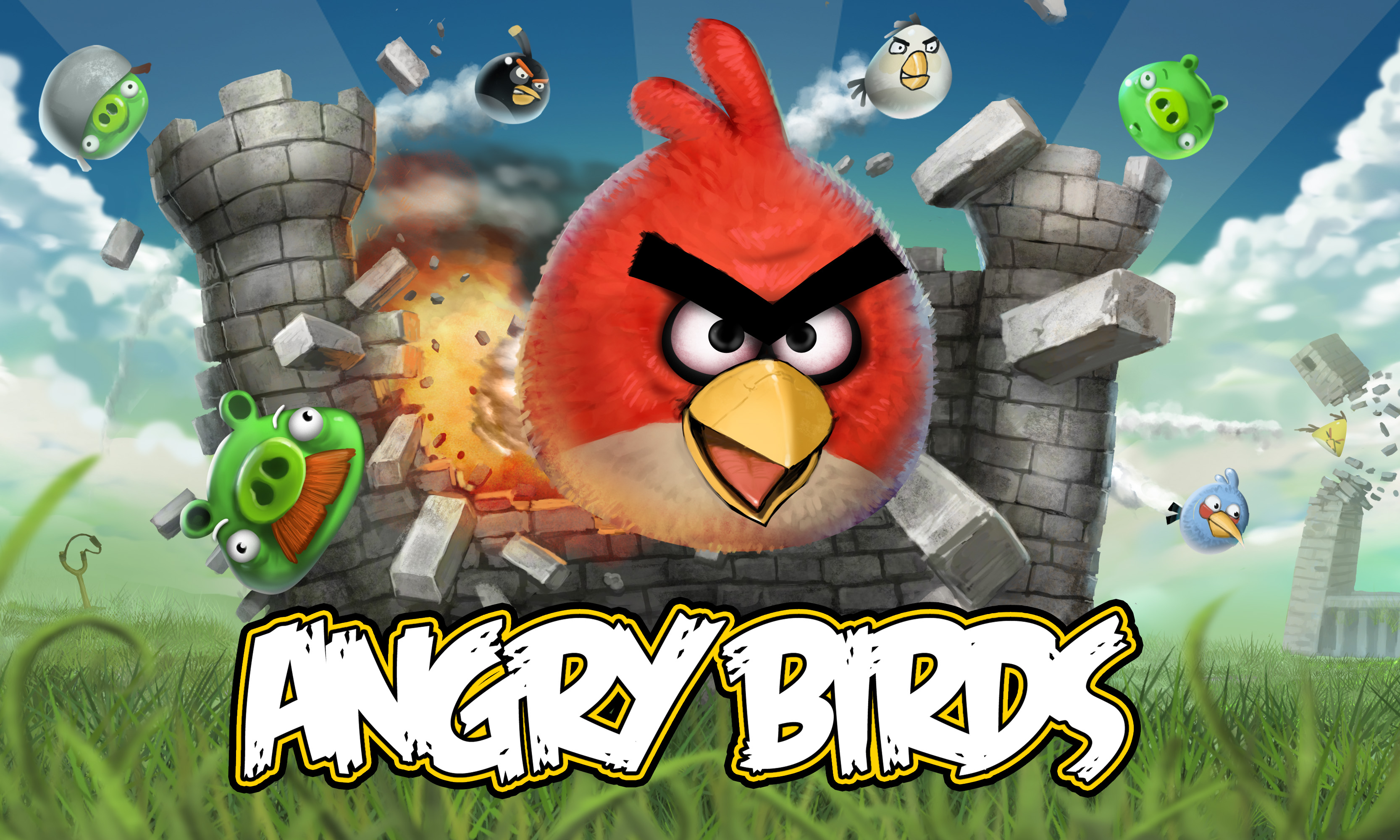 HD Angry Birds Wallpaper Hello Kitty Wallpapers 3333x2000