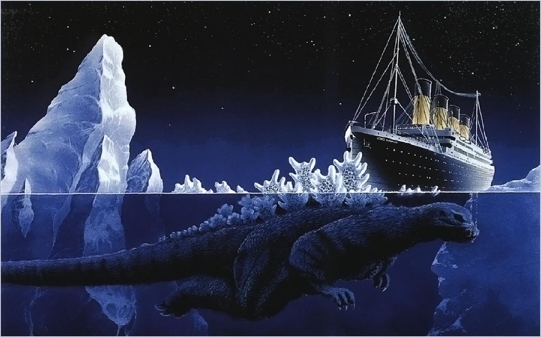 Ships Godzilla Wallpaper 1440x900 Ships Godzilla Underwater 1440x900