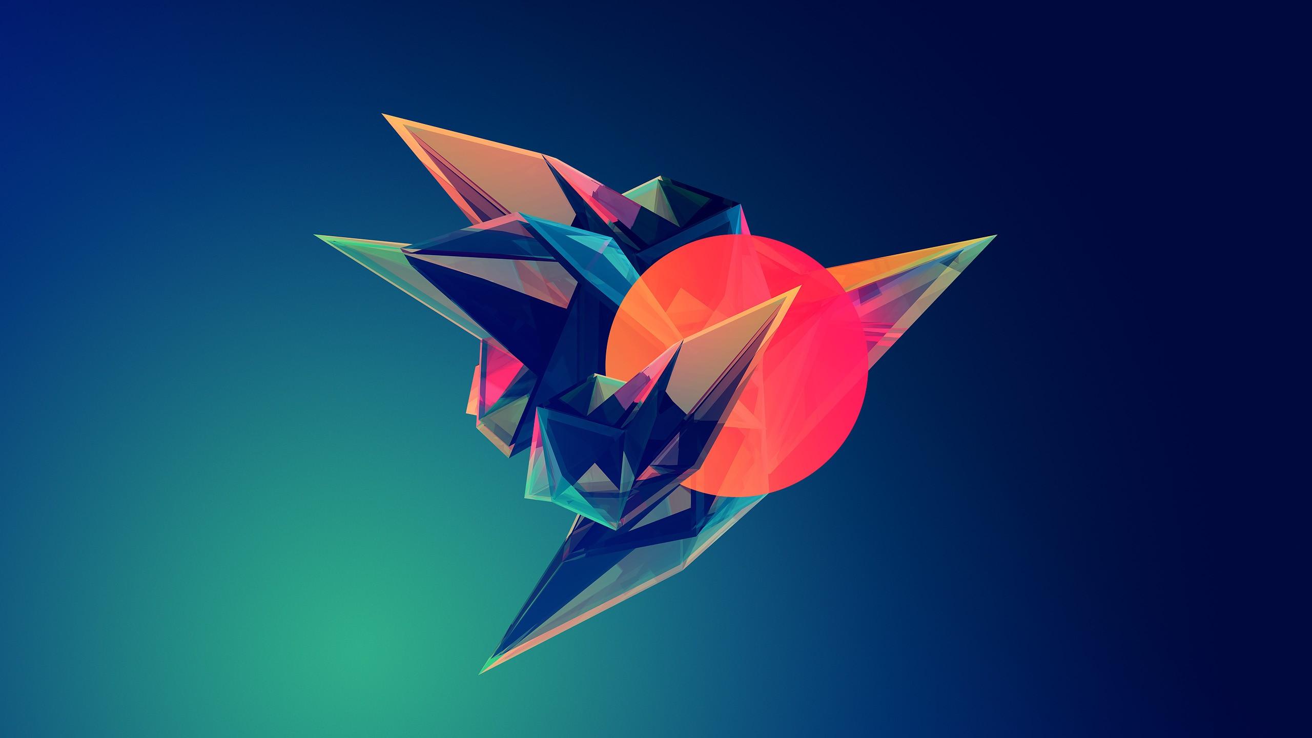 Geometric Desktop Wallpaper 2560x1440
