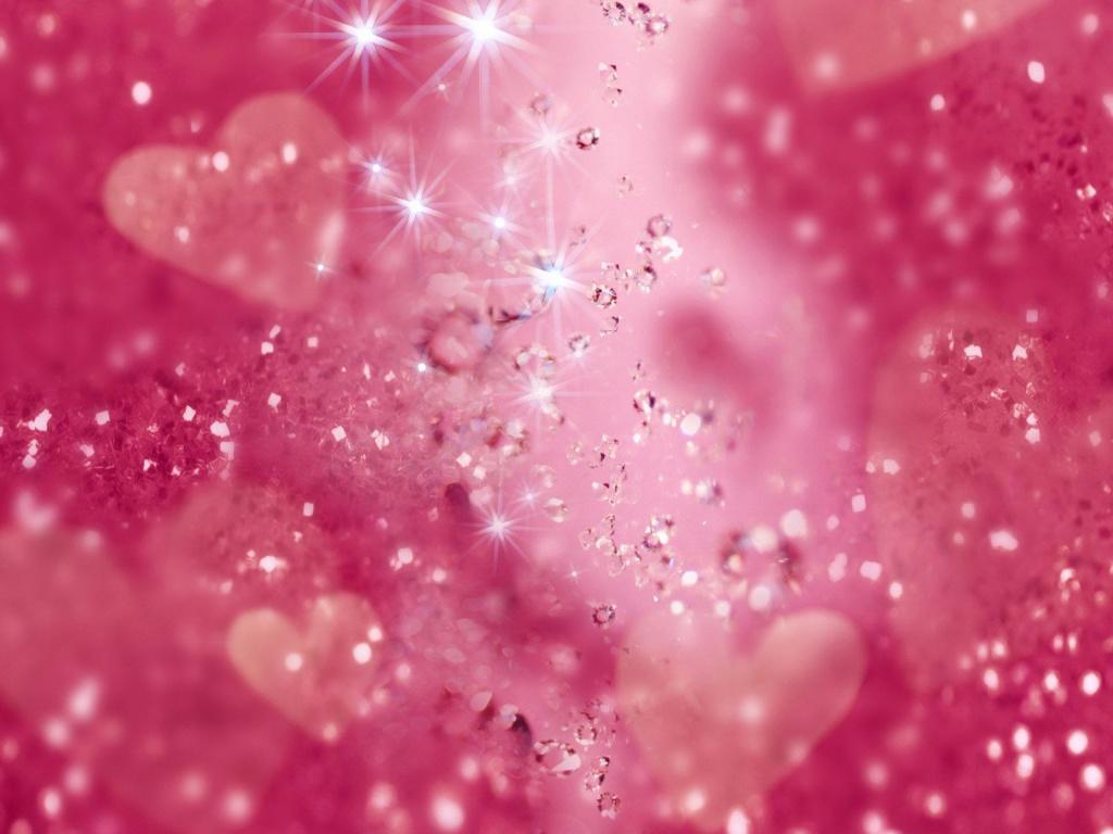 Pink Glitter Wallpaper   8758 1024x768
