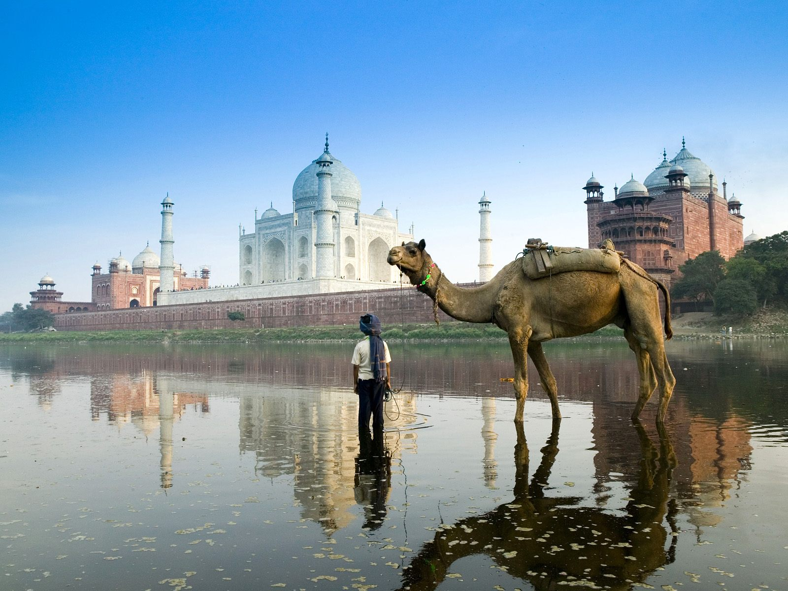India HD Wallpaper Yamuna River Agra India Wallpapers for Desktop 1600x1200