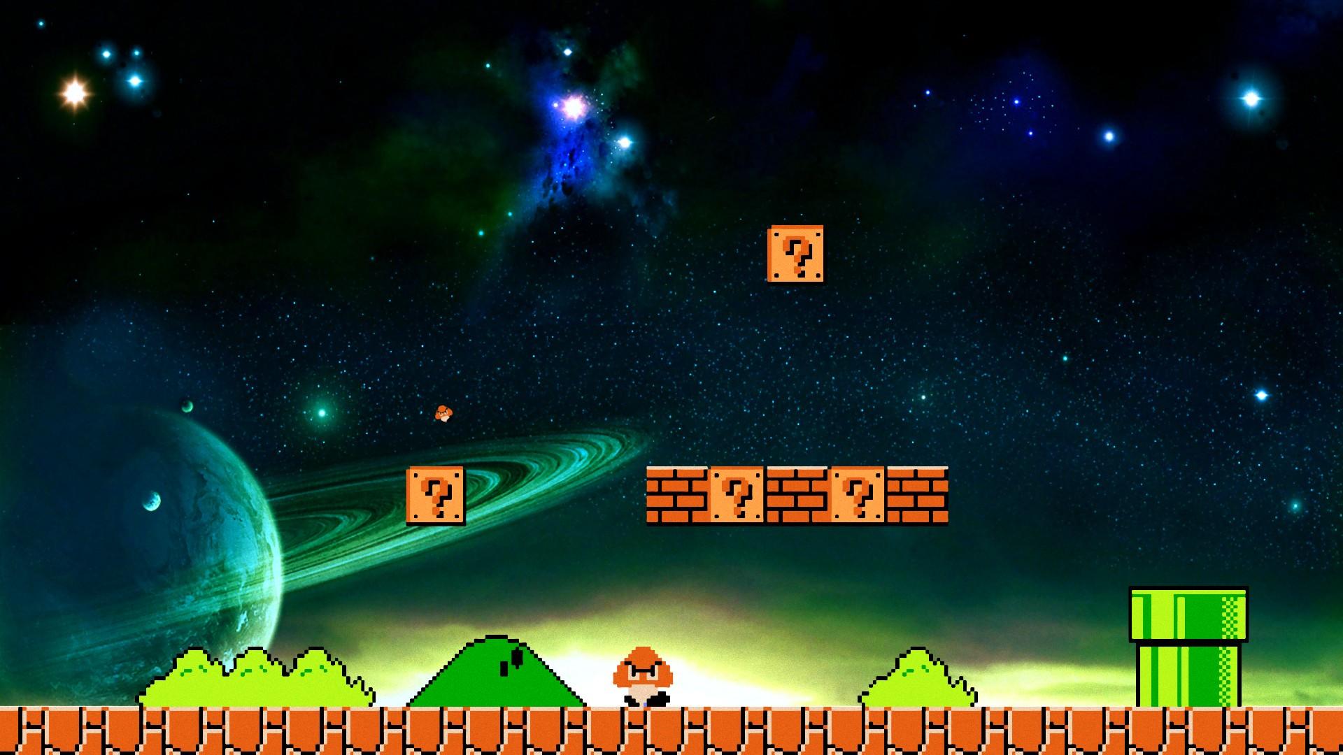 HD Super Mario Wallpapers 1920x1080