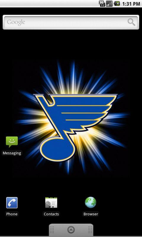St Louis Blues Live Wallpaper   screenshot 480x800